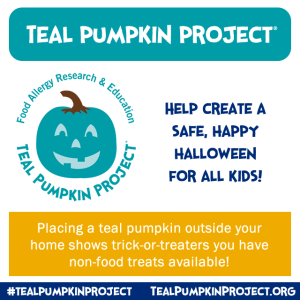 Halloween and the Teal Pumpkin Project