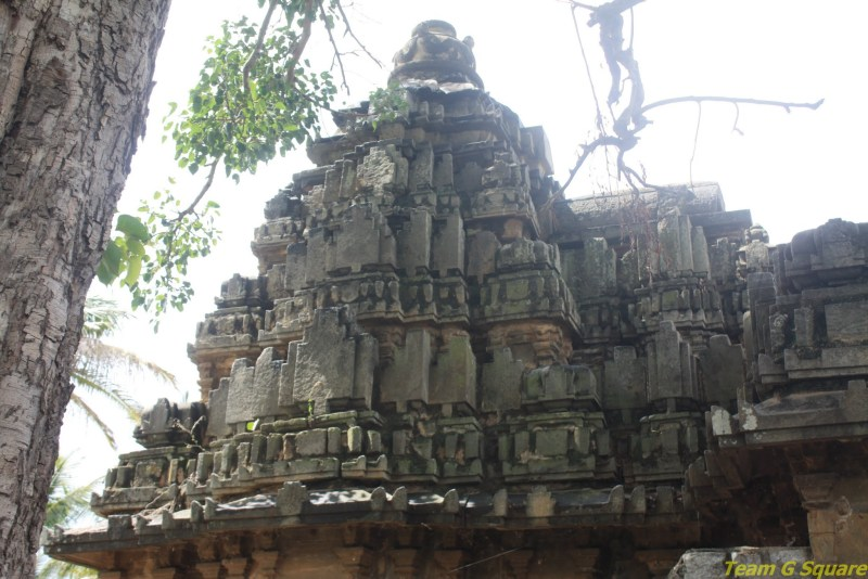 The Shikara of Eshwara temple