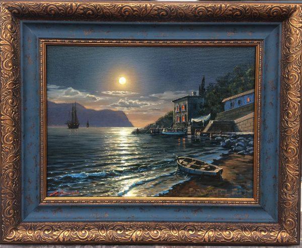 Ночь в Балаклавской бухте