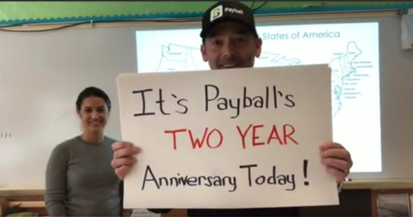 Payball TWO YEAR Anniversary Video