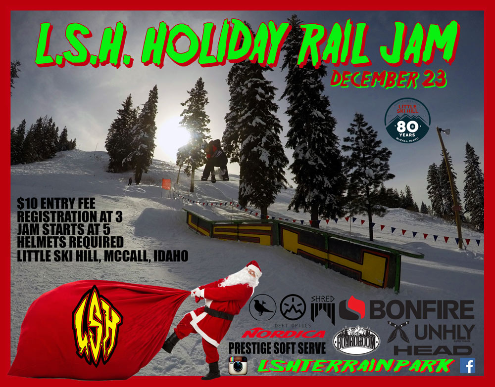 2017 Holiday Rail Jam Poster Event