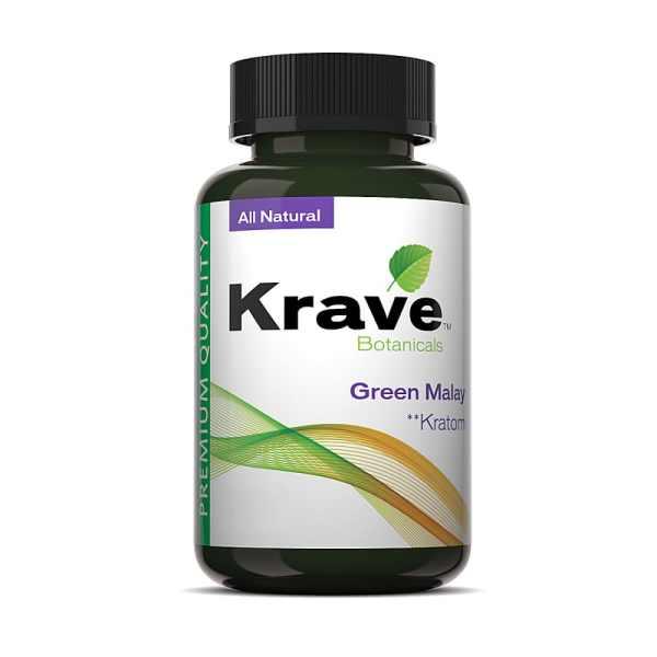 Krave Kratom Capsule - Green Malay