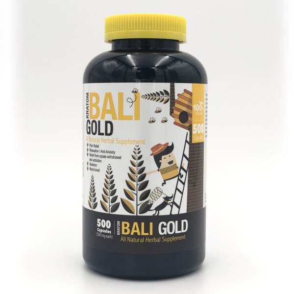 bumble bee bali gold kratom capsules