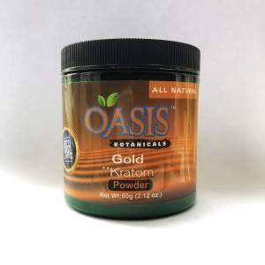 Oasis Kratom Powder - Gold