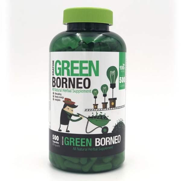 bumble bee green borneo kratom capsules