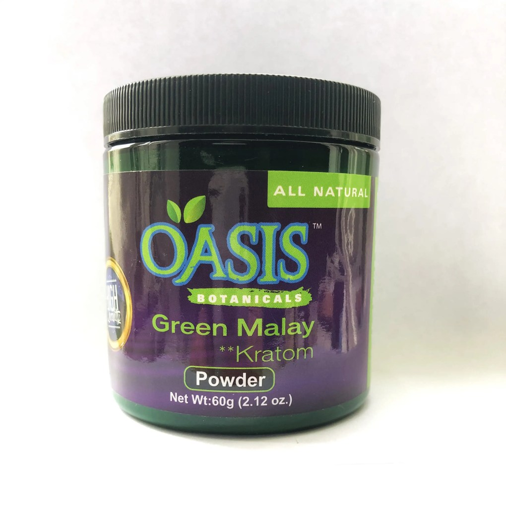 Oasis Kratom Powder - Green Malay