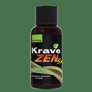 krave zen 3x shot