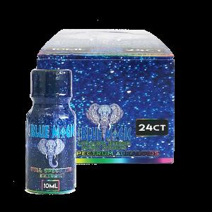 blue magic kratom liquid shot display