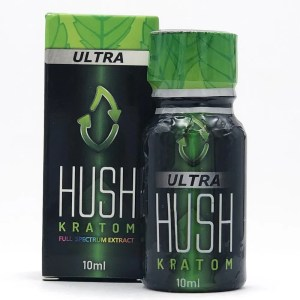 hush full spectrum kratom shot