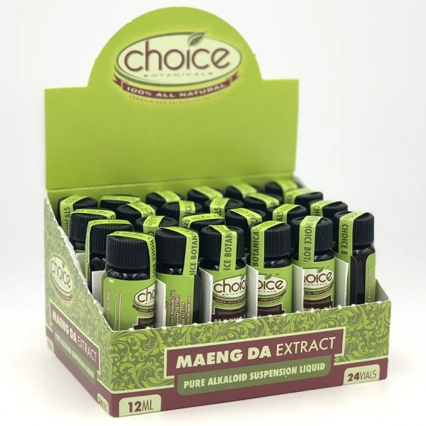 choice botanicals maeng da kratom liquid shot