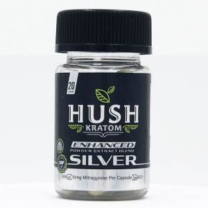 hush silver extract capsules