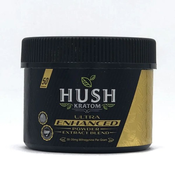 hush ultra enhanced powder 50 grams