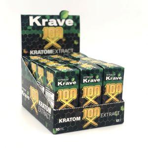 krave 100 X kratom liquid shot