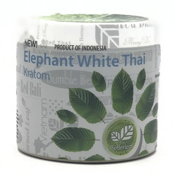 the better leaf elephant white thai kratom