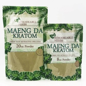 remarkable herbs green vein maeng da kratom