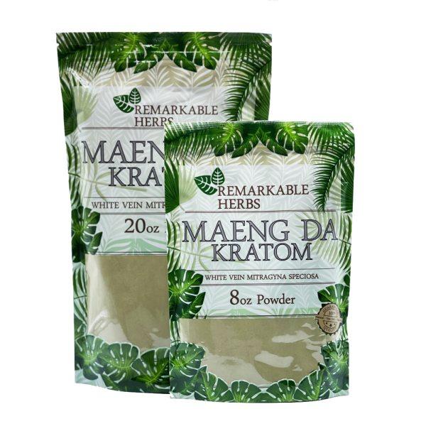 Remarkable herbs white vein maeng da kratom powder