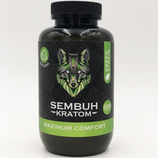 sembuh green vein kratom powder