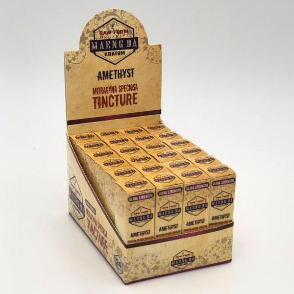 raw form organics amethyst kratom shot box