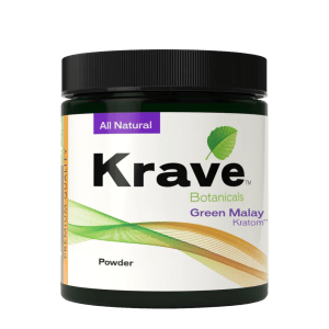 Krave Green Malay Kratom Powder