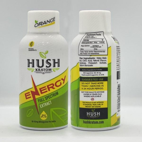 Hush Kratom Energy Shot