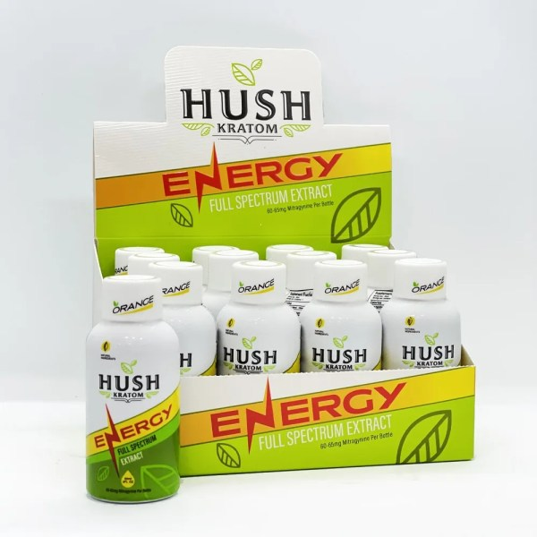 Hush Kratom Energy Shot Box