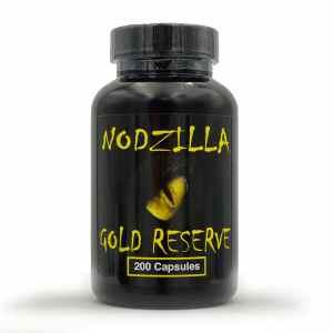 nodzilla gold reserve kratom capsule