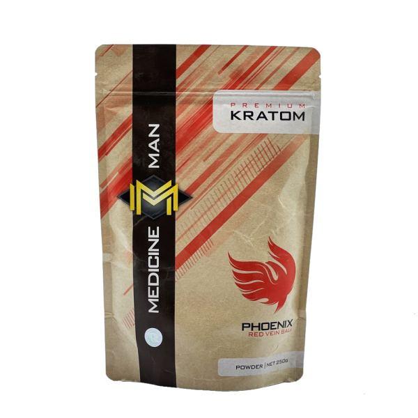 Medicine Man Red Vein Bali Kratom Powder