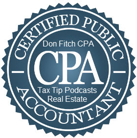 Tax Tip Podcasts for Realtors, Brokers, and Real Estate Professionals