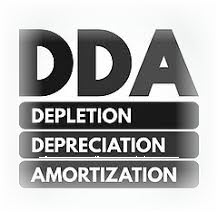 DDA Depletion Depreciation Amortization