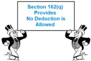 Section 162(q) Provides No Deduction is Allowed