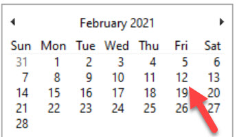 Tax Time or Season Starting  February 1