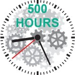 participate in the activity for more than 500 hours