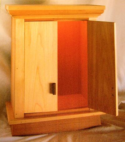 Buddhist Prayer Cabinet Mystic Wood And Paint