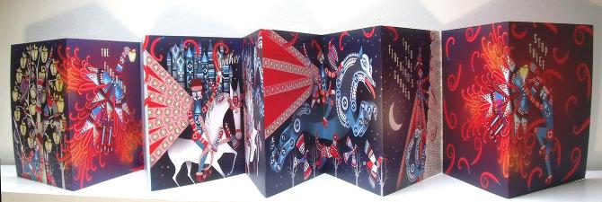 Firebird Concertina Lesley Barnes Illustration