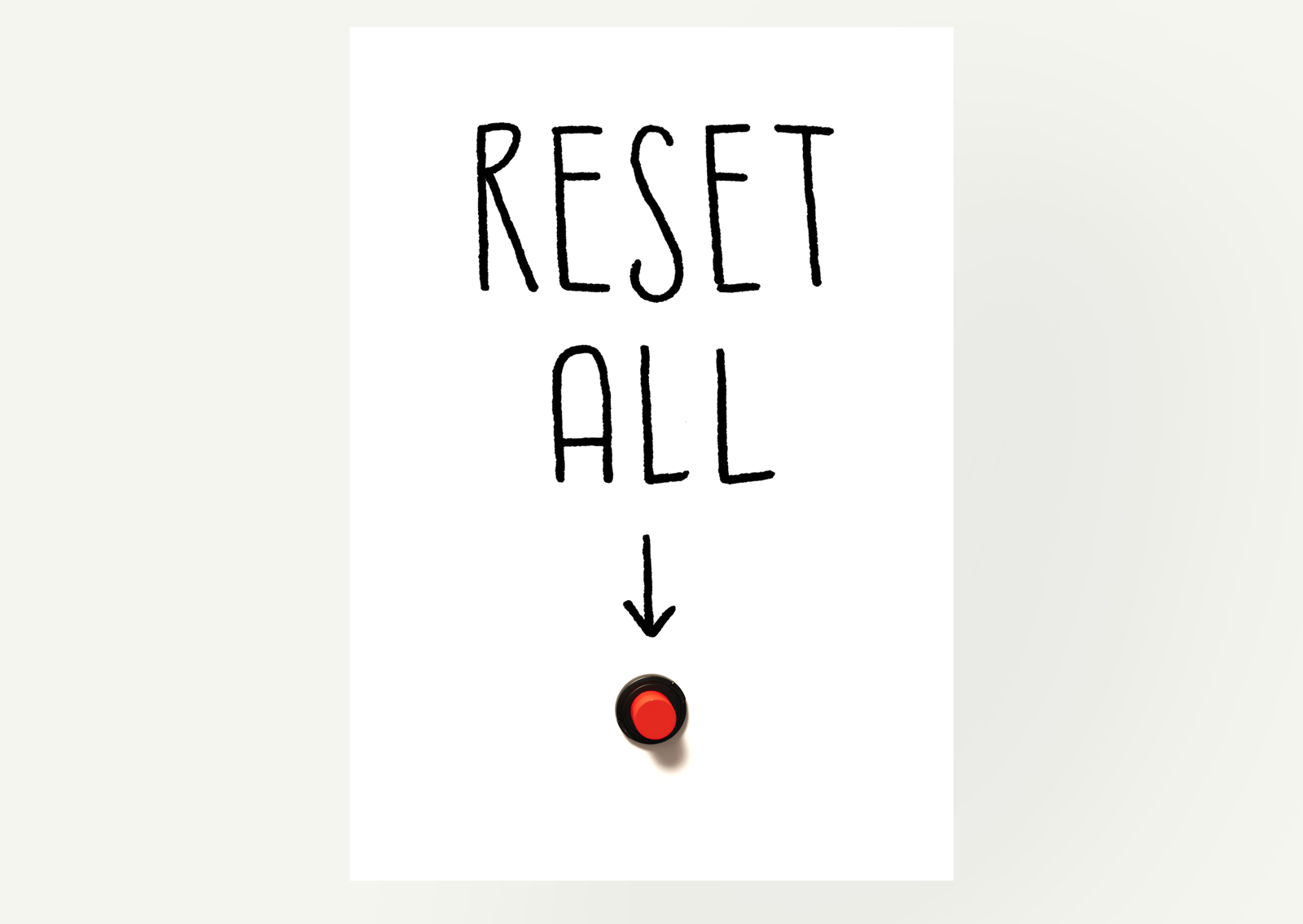 Reset All Poster