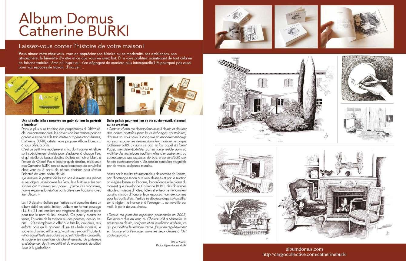 contact et cv album domus drawings