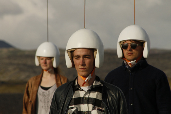 Human Lightning Field Per Kristian Nygrd