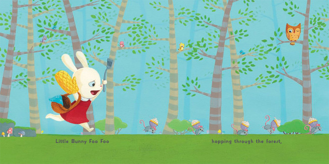 Little Bunny Foo Foo Cori Doerrfeld Illustration