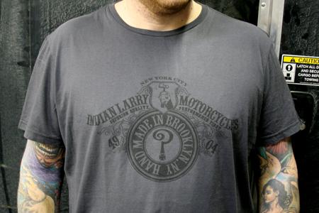 Indian Larry T Shirts Joseph Morgano
