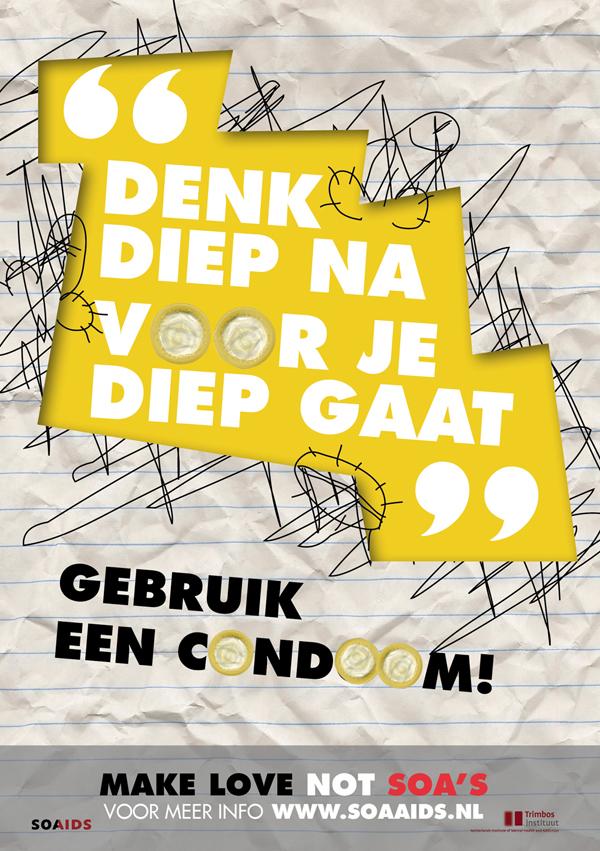 Soa Aids Campagne Lilly Van Zuylen
