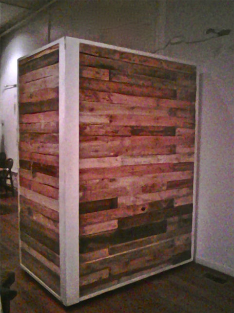 pallet wall pallet wall decor room divider on pallet wall id=72635