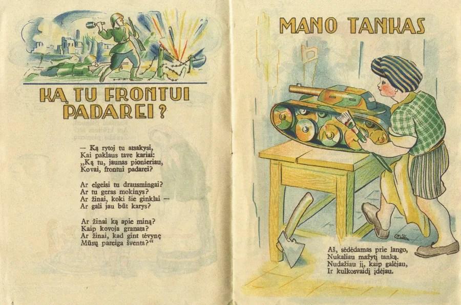 Lithuanian illustrations (c. 1947–1972) (5/6)