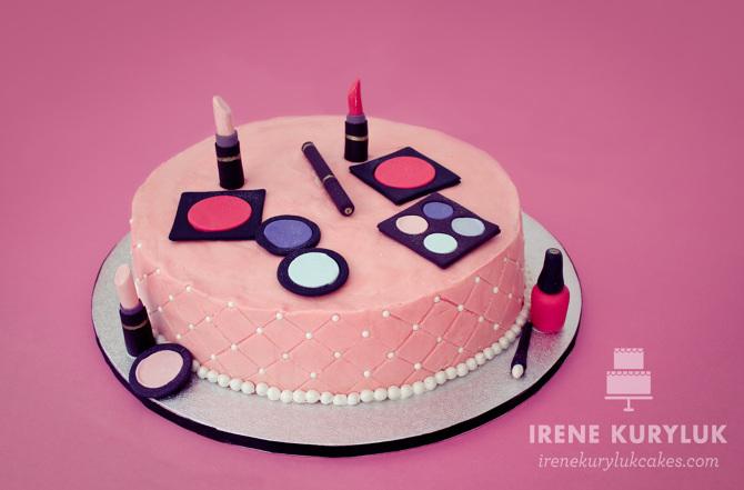 Makeup Cake Irene Kuryluk Cakes