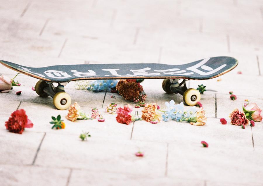 flower skateboard emilia bergmark