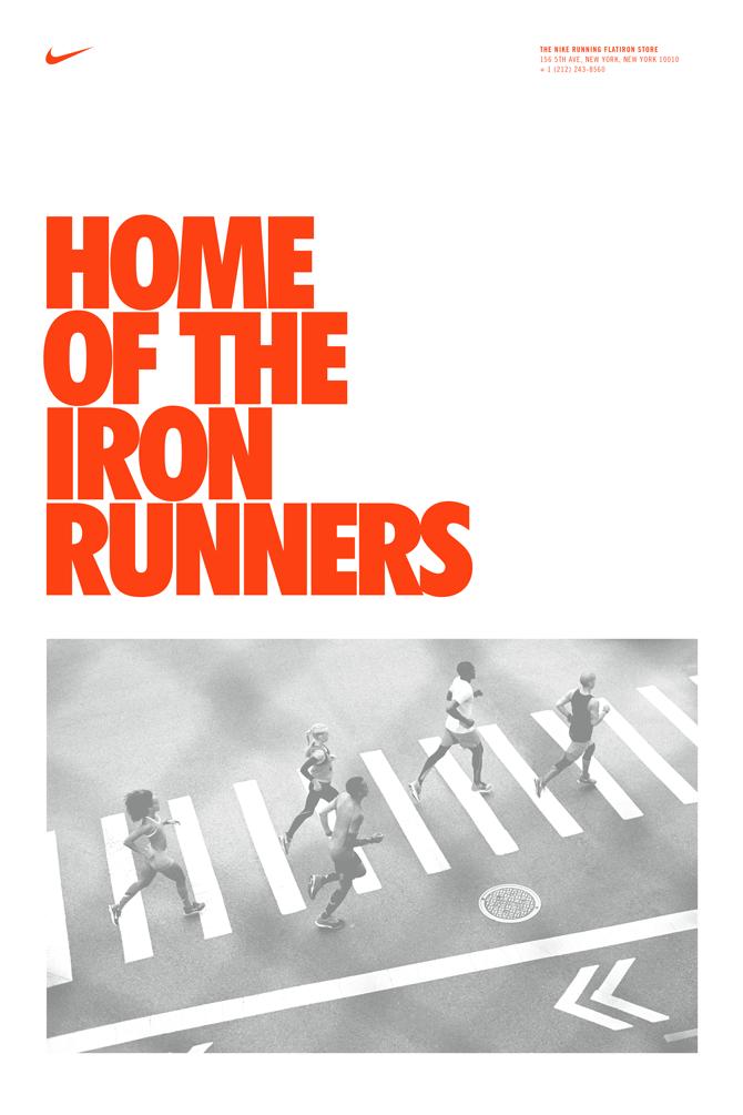 Nike Flatiron Posters Anton Pearson
