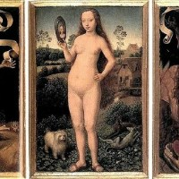 Hans Memling,  Triptych of Earthy Vanity and Divine Salvation
