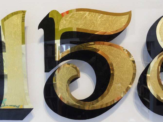 Gold Leaf Amp Address Numbers