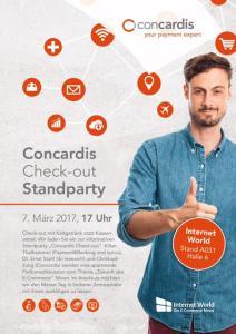 Internet World 2017 - die Concardis E-Commerce Messe in München