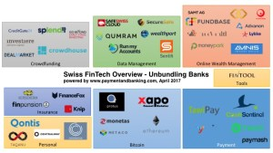 Swiss FinTech Overview- unbundling banks