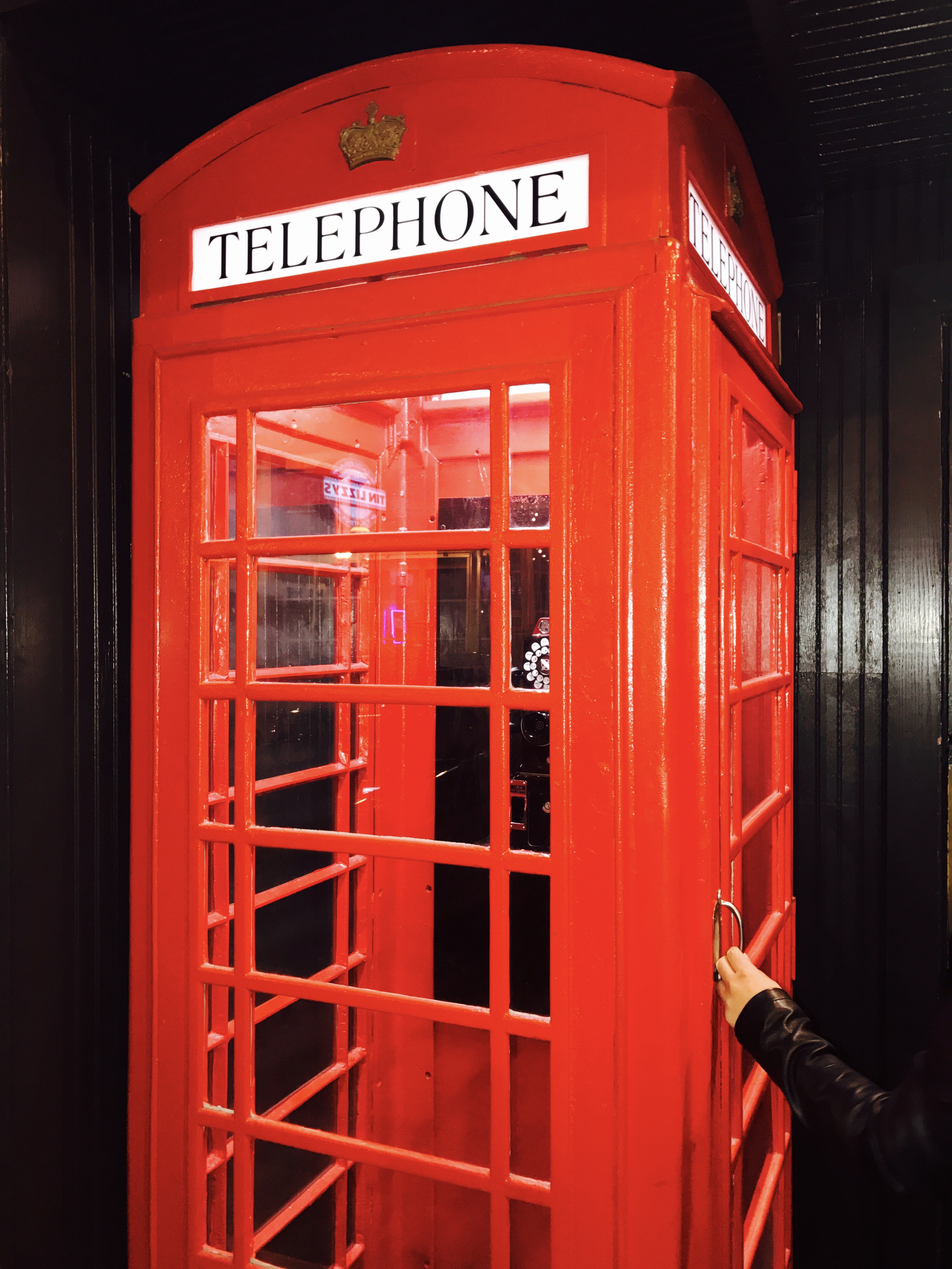 The Red Phone Booth A Prohibition Experience Pay Or Wait